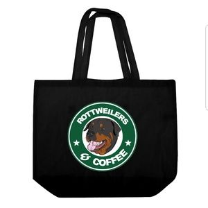 Tops - Rottweilers and Coffee Tote